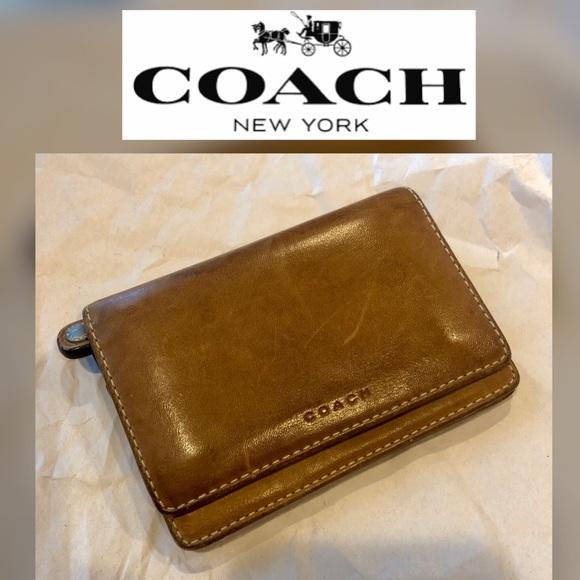 Coach Handbags - Coach Leather Unisex Wallet